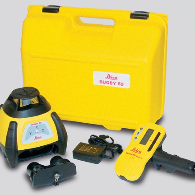 Hire Leica Rugby 50 Construction Laser Level (per week)
