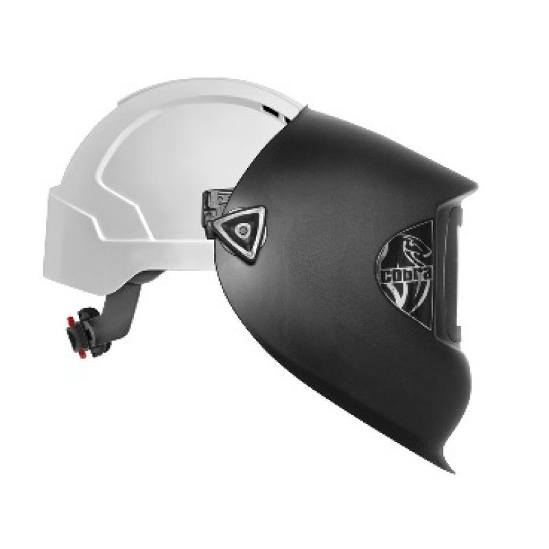 JSP Cobra Welding Visor with EVOLite Mid Peak Vented Helmet