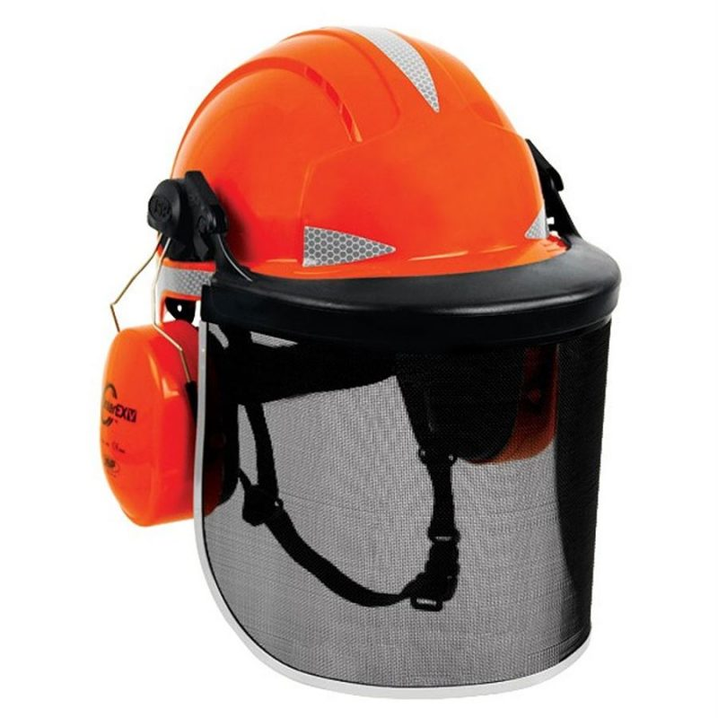 JSP EVOLite Forestry Orange Helmet