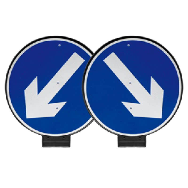 JSP PortaCone - Reversible Arrow Sign