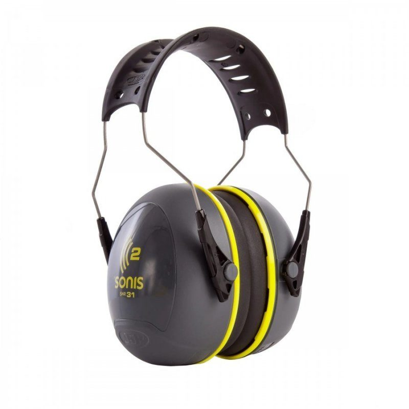 JSP Sonis 2 Adjustable Ear Defenders 31db SNR