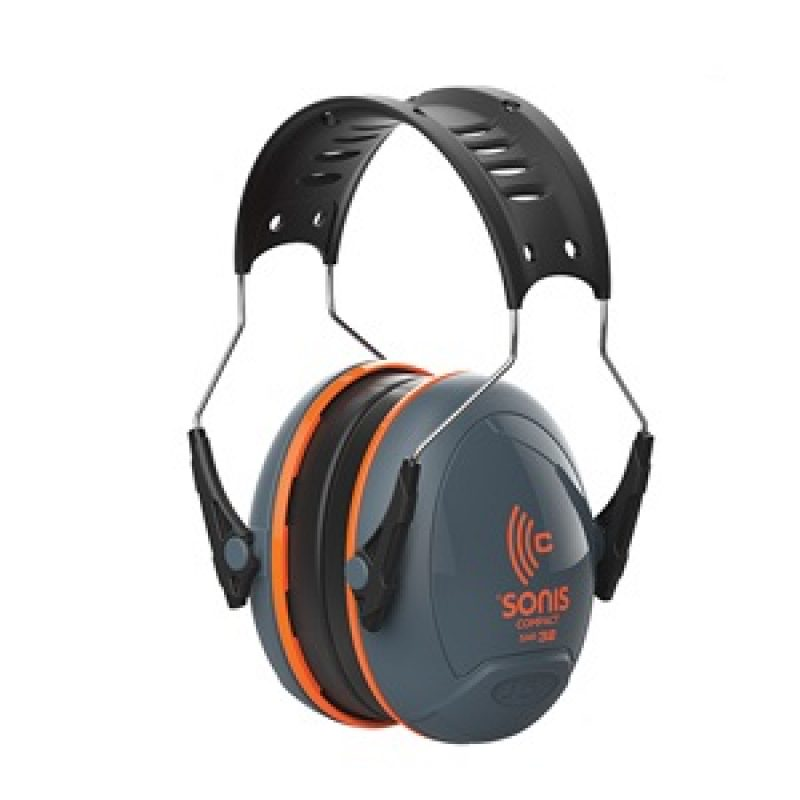 JSP Sonis Compact Adjustable Ear Defenders 32db SNR