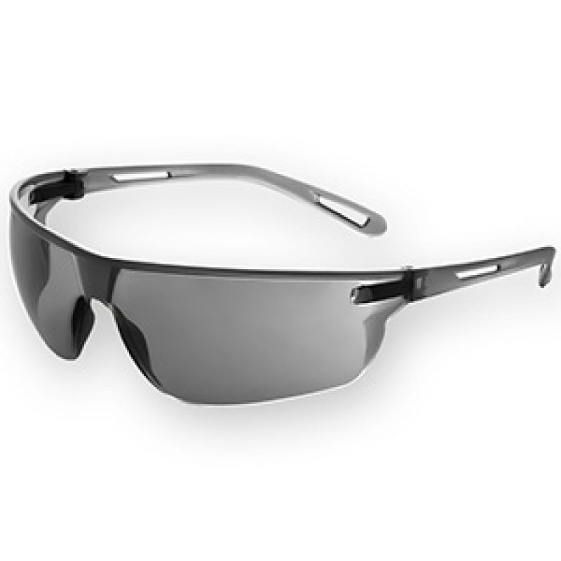 JSP Stealth 16g Lightweight Safety Spectacles - Smoke K Rated