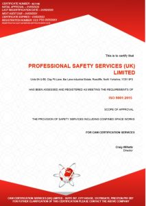 ISO 9001: 2015 Quality Assured Certification