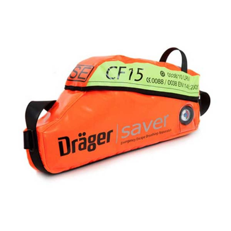 Drager Saver CF15 Constant Flow Emergency Escape Set