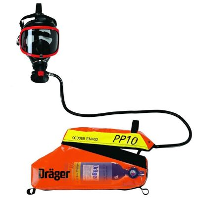 Drager Saver PP10 Positive Pressure Escape Set