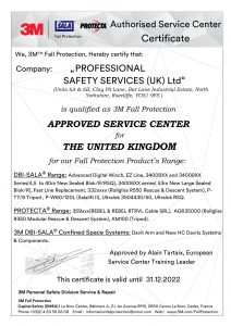 3M Protecta Approved Service Centre