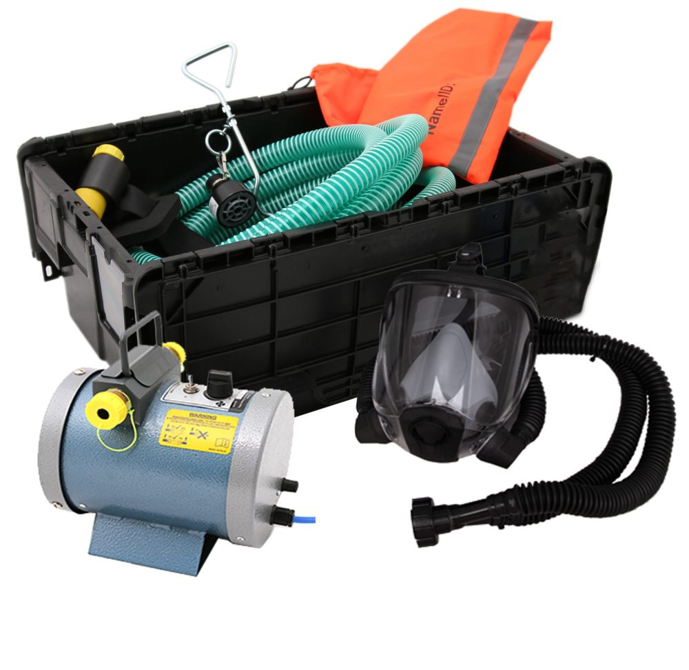 Centurion Nevis Powered Fresh Air Breathing Apparatus Kit