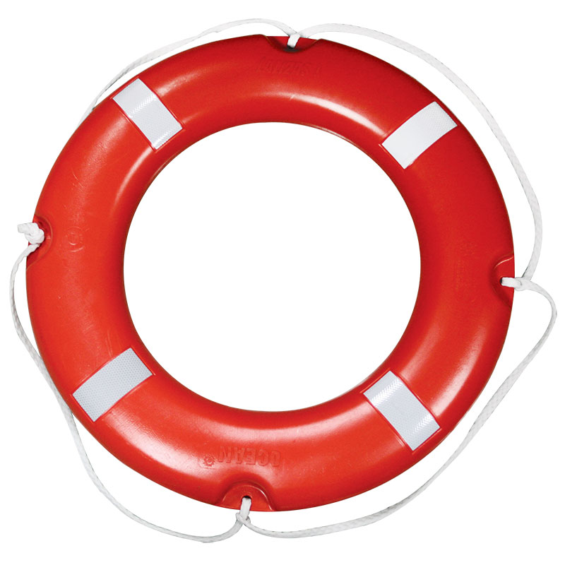 LALIZAS Lifebuoy Ring SOLAS 4kg with Reflective Tape