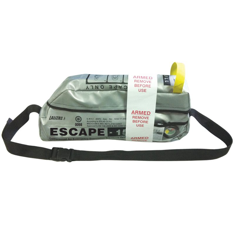 Lalizas Escape-15 Constant Flow Emergency Escape Set