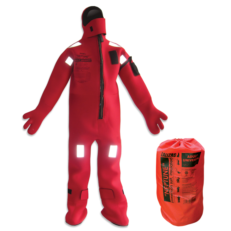 Lalizas Neptune Large Immersion Suit Insulated