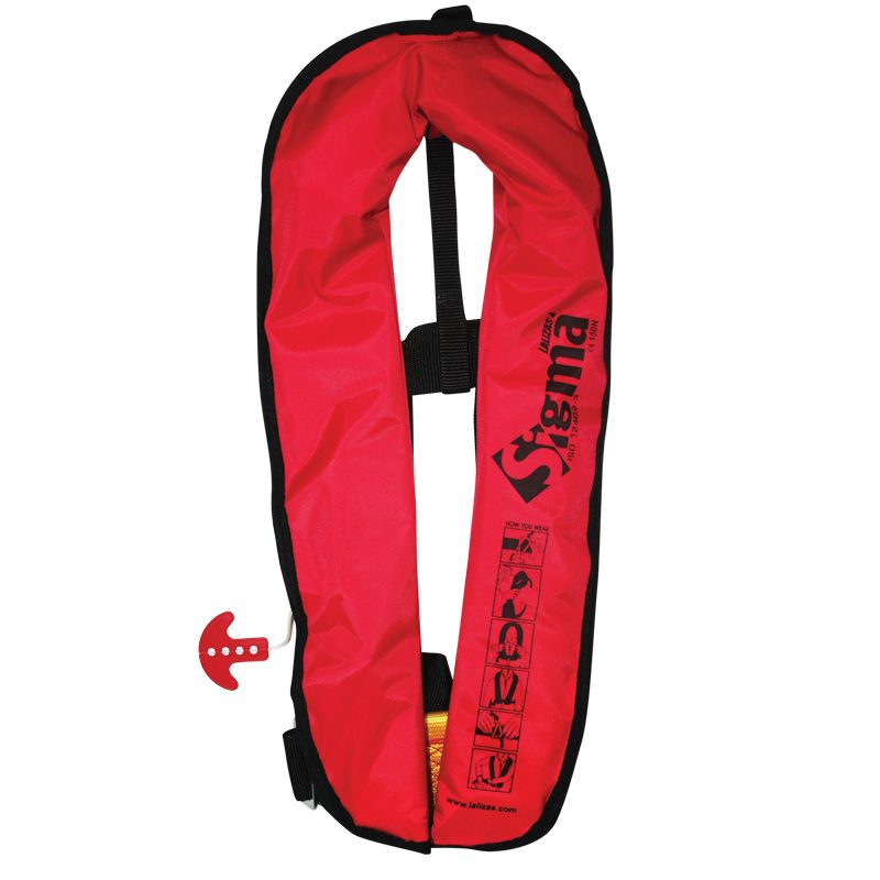 Lalizas Sigma Auto-Inflatable Lifejacket 170N